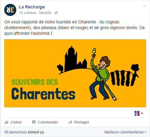 post fb la recharge